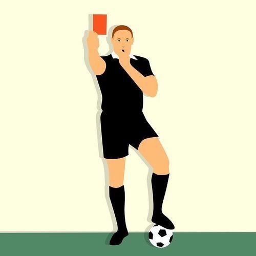 Die Rote Karte – der Horror eines jeden Fußballspielers
